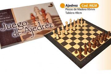 "Imagen de Ajedrez 49x49 Fichas Madera 4"""