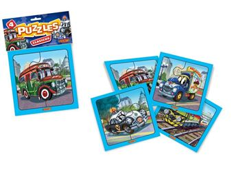 Imagen de 4 Puzzles 4 piezas - Clasicos