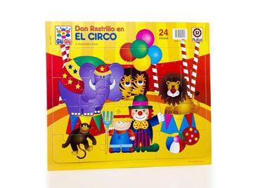 Imagen de Puzzle 24 piezas - Don Rastrillo En El Circo