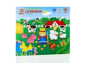 Imagen de Puzzle 24 piezas - Don Rastrillo En La Granja