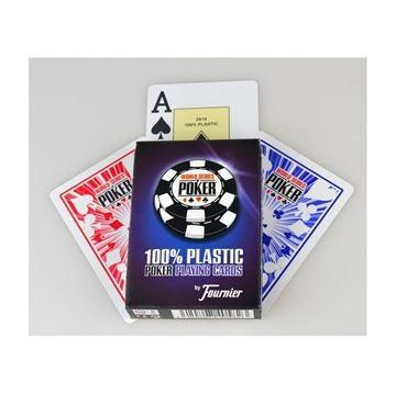 Imagen de Naipe Fournier 100% Plástico WSOP