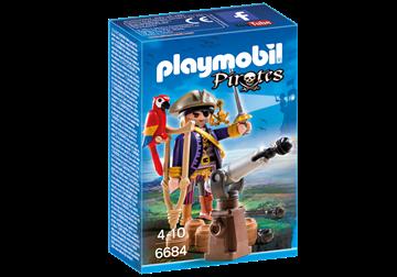 Imagen de PLAYMOBIL 6684 - CAPITAN PIRATA