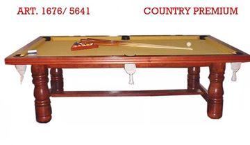 Imagen de Mesa Pool 2,45X1,45 Melamina Country