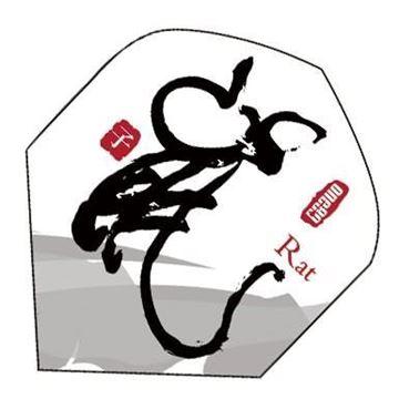 Imagen de Pluma para dardos ONE80 Mod. RATA