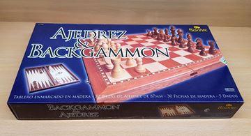 """Imagen de Ajedrez-Backgammon Caja Color 3.5"""""""