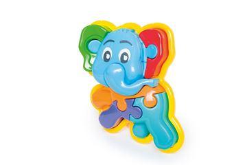 Imagen de Animal Puzzle 3D Elefante