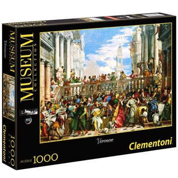 Imagen de Puzzle 1000 Piezas - Las bodas en Cana - Veronese