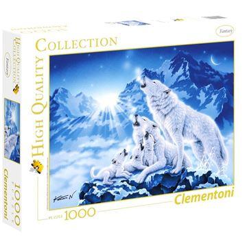 Imagen de Puzzle 1000 Piezas - HQC - Familia de lobos